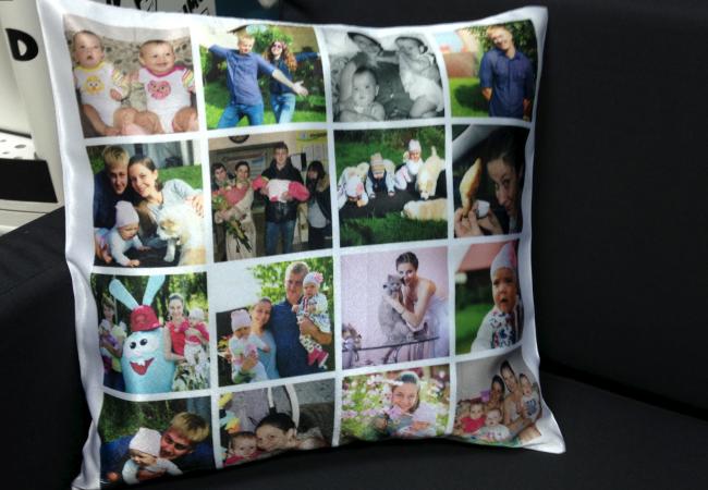 Как сделать фото на подушке своими руками